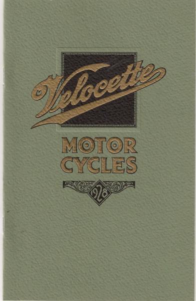1928 Brochure Reprint