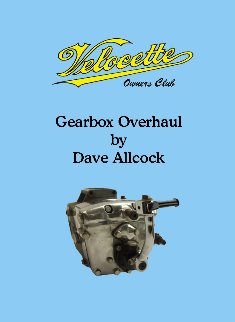 Gearbox Overhaul by Dave Allcock DVD