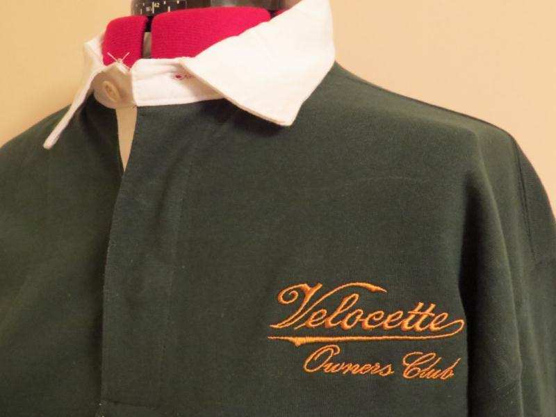 The Velocette Rugby Shirt