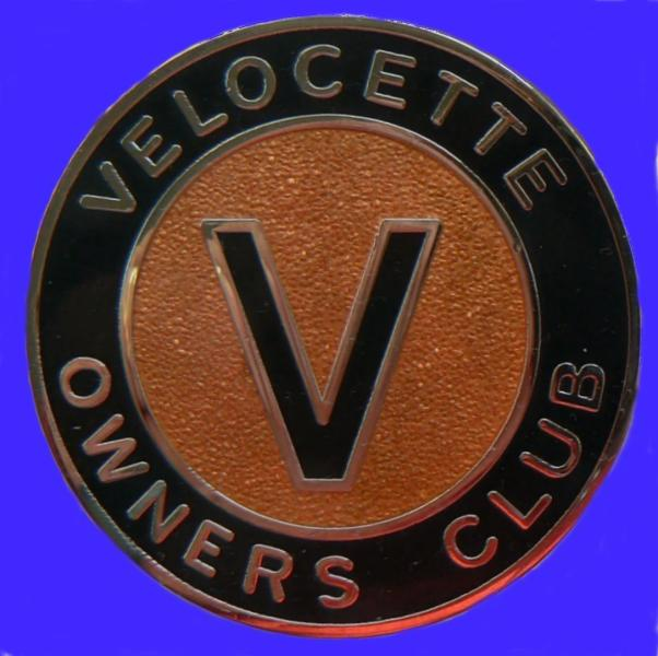 Small Original Owners Club Badge