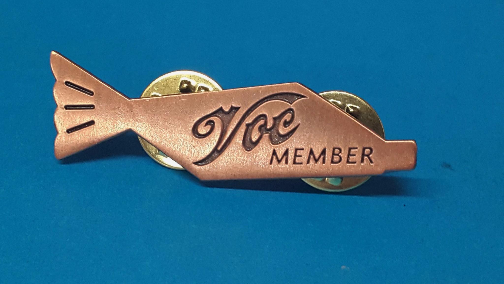 Fishtail Lapel Badge