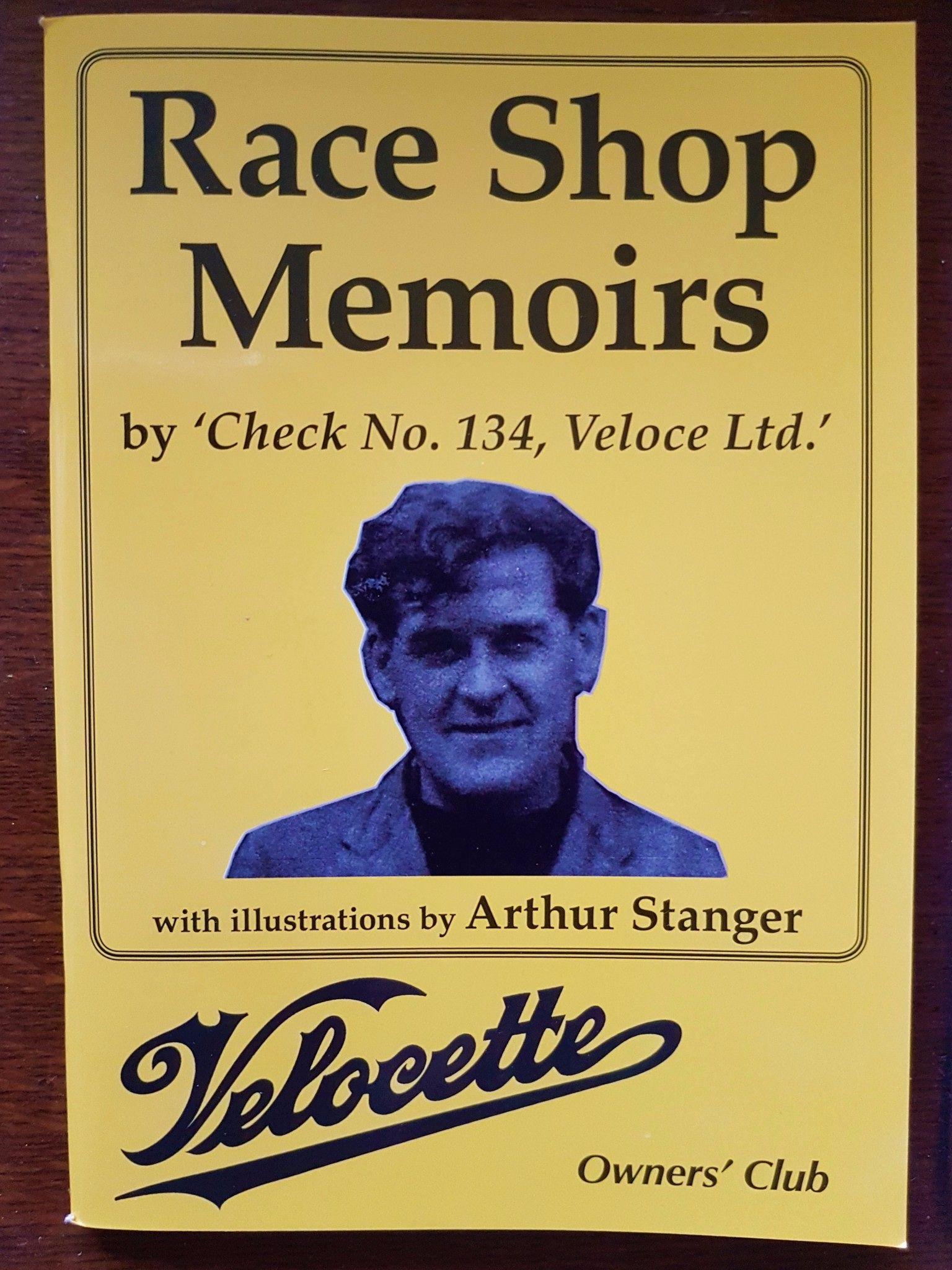 Race Shop Memoirs and 1928 Brochure reprint