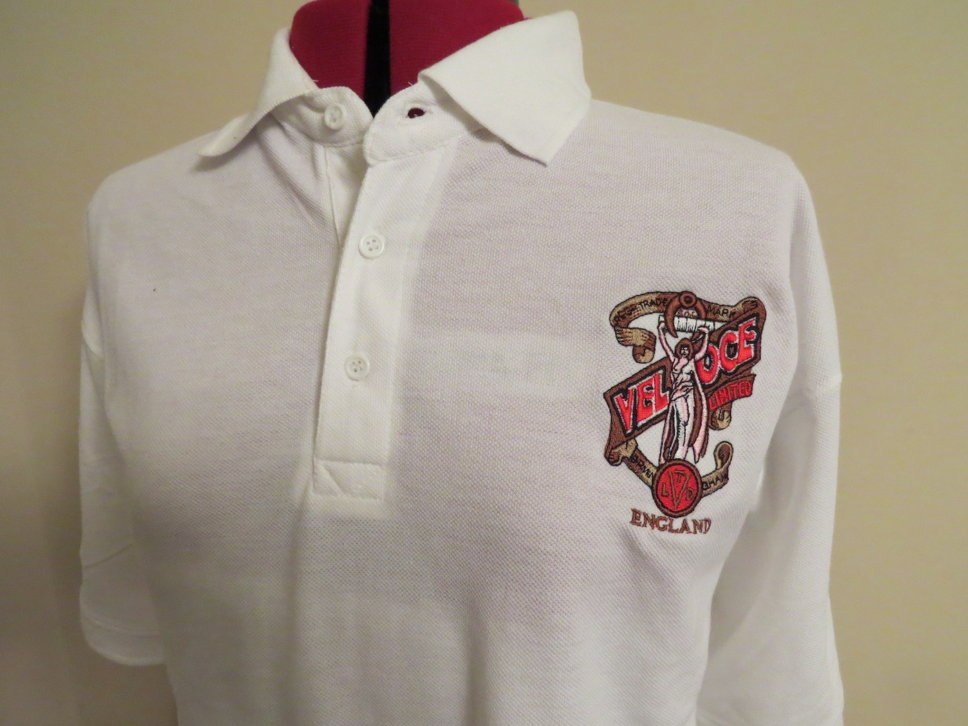 Polo Shirt with Naked Lady embroidered Logo