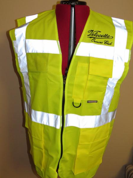 Hi-Visibility Zip-up jacket
