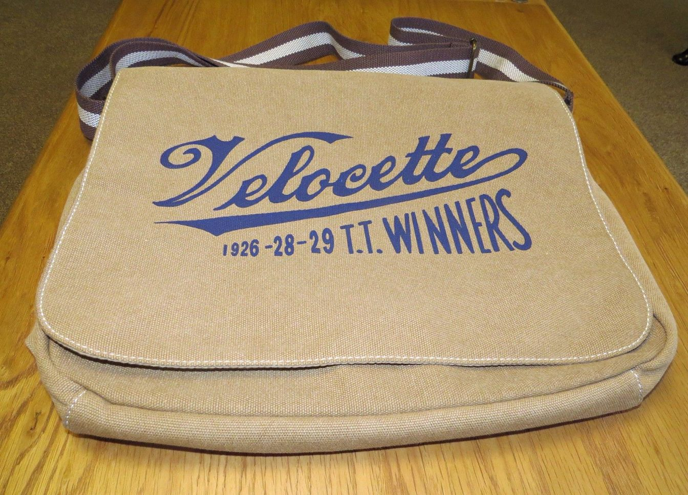 A Velocette TT Winners Shoulder Bag
