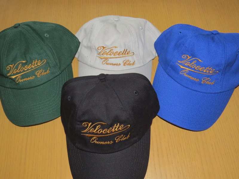 Baseball Cap with Velocette logo