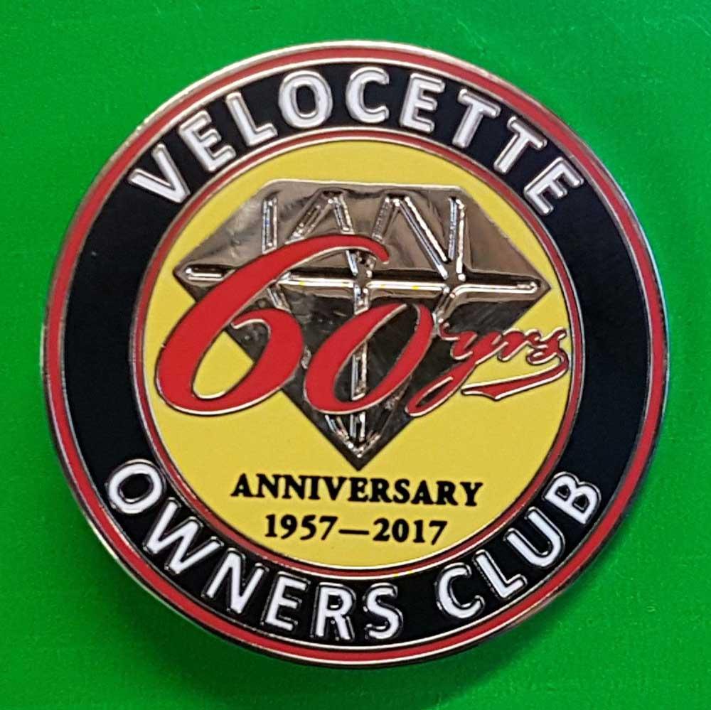 60th Anniversary Badge