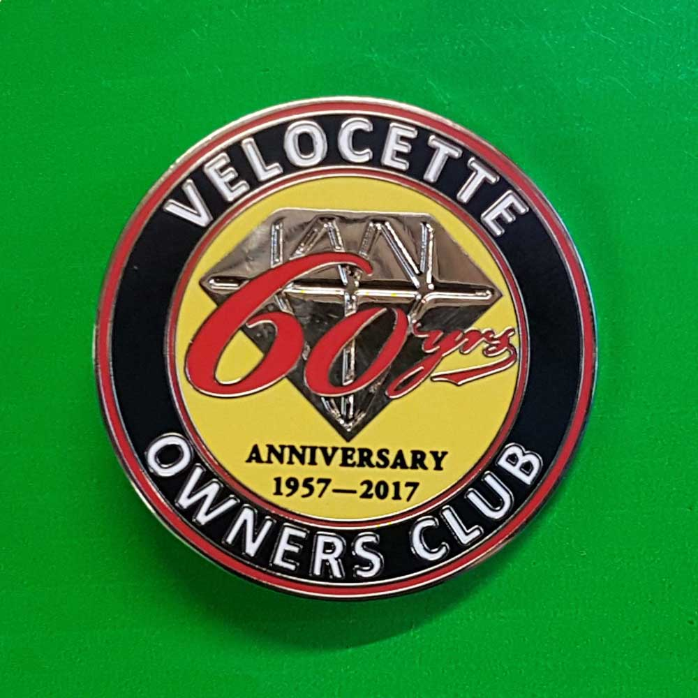 Small 60th Anniversary badge