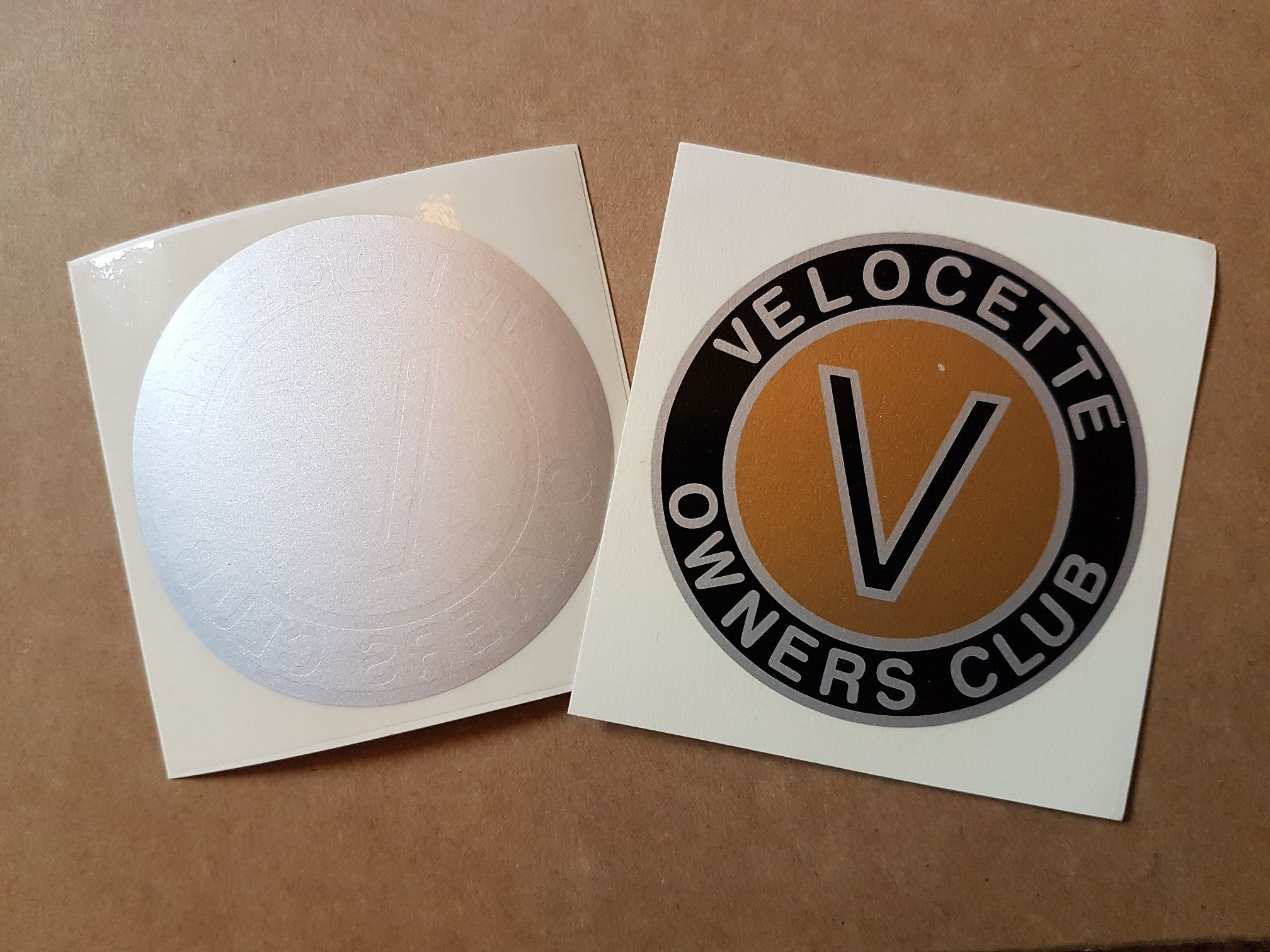 Pack of Velocette stickers